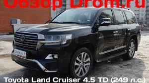 toyota land cruiser black toyota land cruiser 2017 4 5 td 249 л с 4wd at executive black