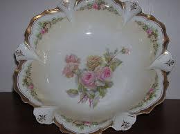 rs prussia bowl roses antique r s prussia bowl bouquet 19th century porcelain