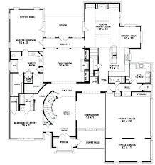 five bedroom house plans 5 bedroom floor plan floor plans for 5 bedroom homes 14 chic