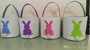 easter bags burlap easter baskets diy rabbit bags bunny storage bag jute