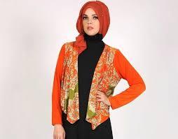 blazer wanita muslimah modern model blazer batik wanita muslimah modern batik muslim