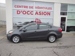 used 2015 kia rio lx for sale in montreal k17373a spinelli kia