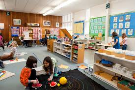 classroom layout for elementary montessori classrooms american montessori society