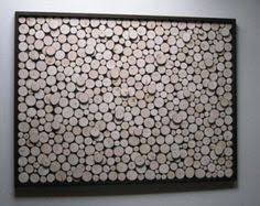 wood slice wall rustic sculpture abstract tree branch
