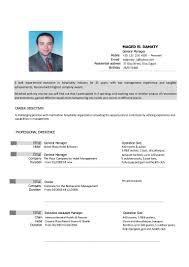 career objective for hospitality industry eliolera com