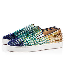 roller boat canvas bazin spikes ray green multi fabric and
