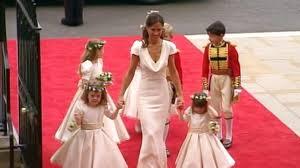 prince william and kate middleton u0027s royal wedding party abc news