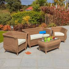 4 seater rattan furniture sets u2013 next day delivery 4 seater rattan