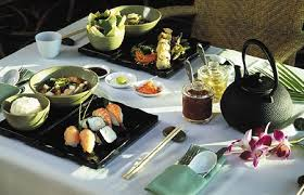 international wedding registry dining at izumi asian cuisine food honeymoon wedding food