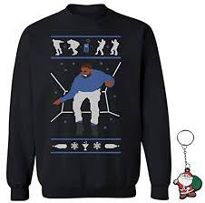 package includes raxo crewneck sweater christmas key chain