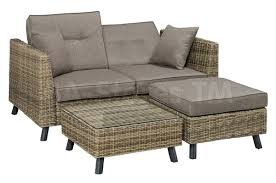 Monterey Outdoor Sectional Sofa And Ottoman Outdoor Seating LS - Outdoor sectional sofas