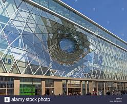 italian architect myzeil is a hugest building projected of the italian architect stock