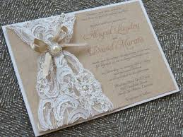burlap and lace wedding invitations abigail burlap lace wedding invitation vintage rustic invitation