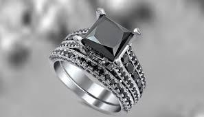 unique princess cut engagement rings princess cut black engagement rings colorful and unique