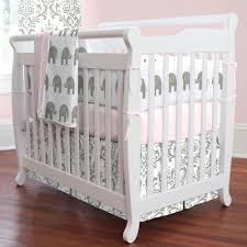Green Elephant Crib Bedding Nursery Beddings Elephant Crib Bedding Boy As Well As Elephant