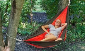 2 person parachute hammock groupon goods