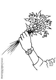 rose flower coloring pages hellokids com