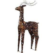 Metal Christmas Lawn Decorations by 12 Best Christmas Yard Decorations Images On Pinterest Christmas