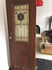 Antique Stained Glass Door by Stained Glass Door Ebay