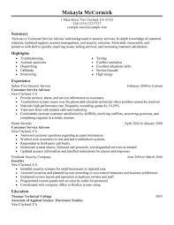 Sample Of A Customer Service Resume by Unforgettable Customer Service Advisor Resume Examples To Stand
