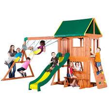 Big Backyard Savannah Playhouse by Play Sets U0026 Swing Sets Academy