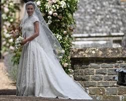 pippa middleton u0027s wedding dress designer shares details photos
