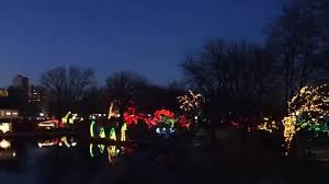 Zoo Lights Hours Chicago by Chicago Lincoln Park Zoo Christmas Lights Youtube