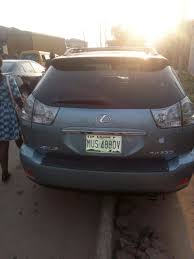 lexus rx330 nairaland used rx330 lexus 2006 modelfor 3 5m call ayo on 08129975524