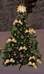 purple christmas tree second marketplace christmas tree 64 with twinkling purple