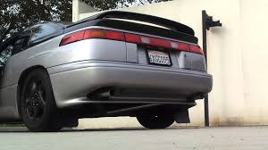 subaru svx custom subaru svx straight pipe exhaust youtube