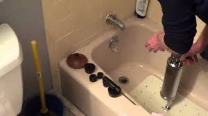 How To Unclog A Bathroom Sink With Baking Soda Bathtubs Trendy Clogged Bathtub Drain Images Bathtub Photos