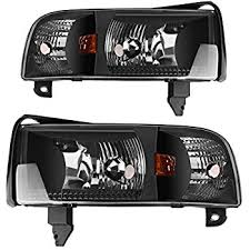 95 dodge 3500 cummins amazon com dodge ram headlights oe style replacement headls