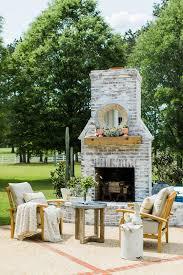 inspiring outdoor fireplace design ideas images best inspiration