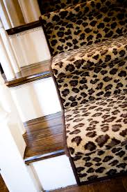 Cheetah Home Decor Lepord Runner On Staircase In The Entry Way Oh Such Drama A