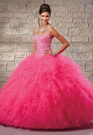 quinceanera dresses pink glorious 2015 sweetheart ruffled floor length beaded hot pink