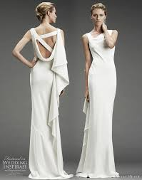 winter wedding dresses 2010 miller wedding dress fall winter 2010 silk stretch dress