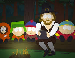a history channel thanksgiving south park archives fandom