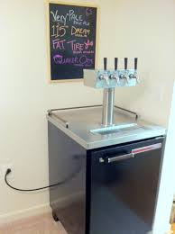 Beer Kegerator Pennsylvania Four Tap Beverage Air Bm23 Draft Beer Dispenser