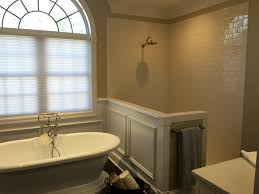 subway thanksgiving point shower remodel american olean 3x6 subway tile in biscuit color