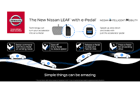 nissan leaf youtube video next generation nissan leaf to offer one pedal driving feature