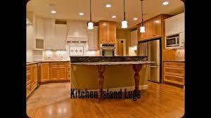 cabinet kitchen island leg square island legs perfect for