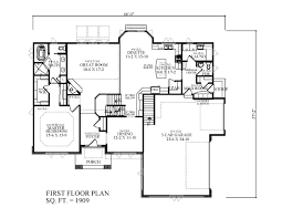 side garage floor plans 1904 sf 1st floor bungalow country