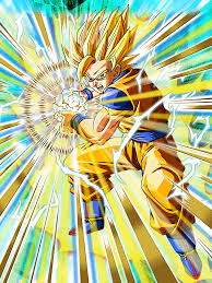 unlimited power super saiyan 2 goku dragon ball dokkan battle