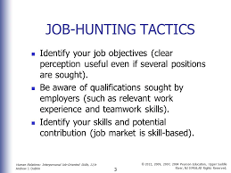 search and career management skills ppt