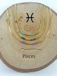 morse code necklace personalized pisces morse code necklace custom morse code secret message