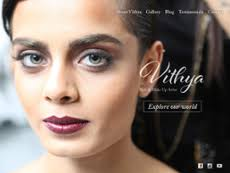 Makeup Artist Websites Vithya Hair And Make Up Artist Company Profile Owler