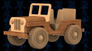 old jeep models old jeep wooden toy 3d model youtube