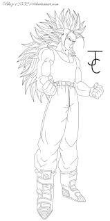 super saiyan gohan coloring pages virtren com