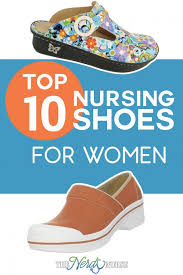 Most Comfortable Work Shoes For Standing On Concrete Top 10 Nursing Shoes For Women
