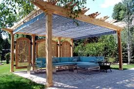 Privacy Garden Ideas 40 Ideas For Pergola In The Garden Sun Protection And Privacy